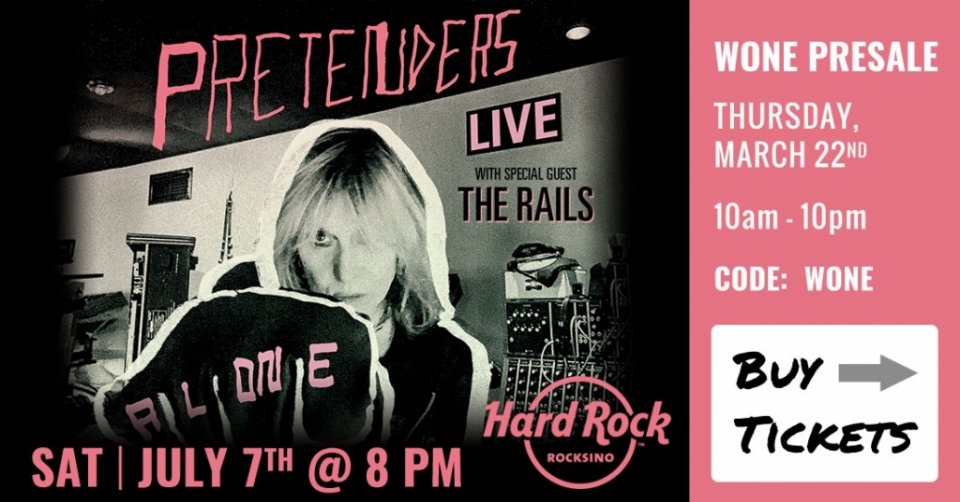 The Pretenders Presale Tickets
