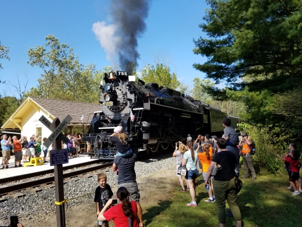 Steam Locomotive is Back