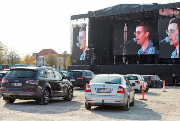 Are Drive-in Concerts in Our Future?
