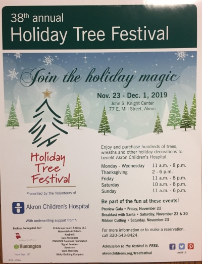 Holiday Tree Festival Is Back