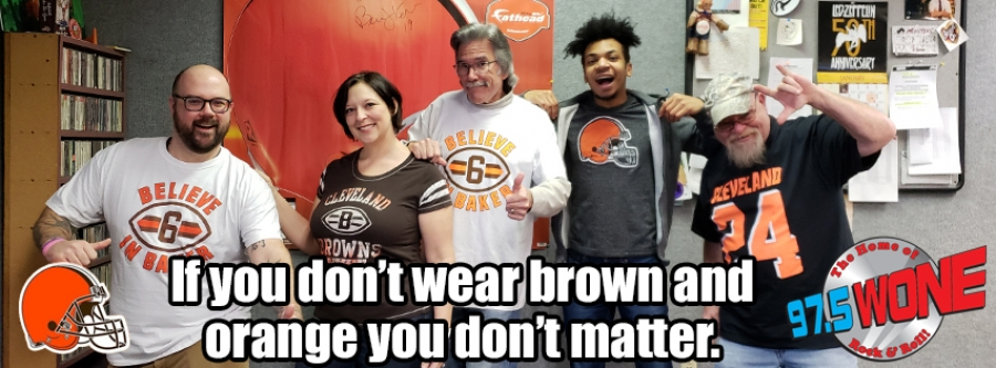 How 'Bout Them Browns... and Former WONE Street Team Member Cami Justice!