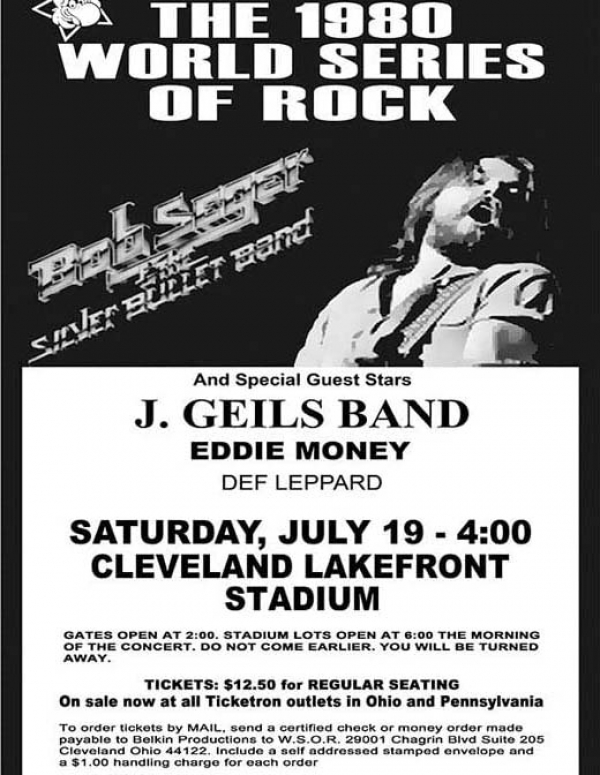 40th Anniversary of the last World Series of Rock