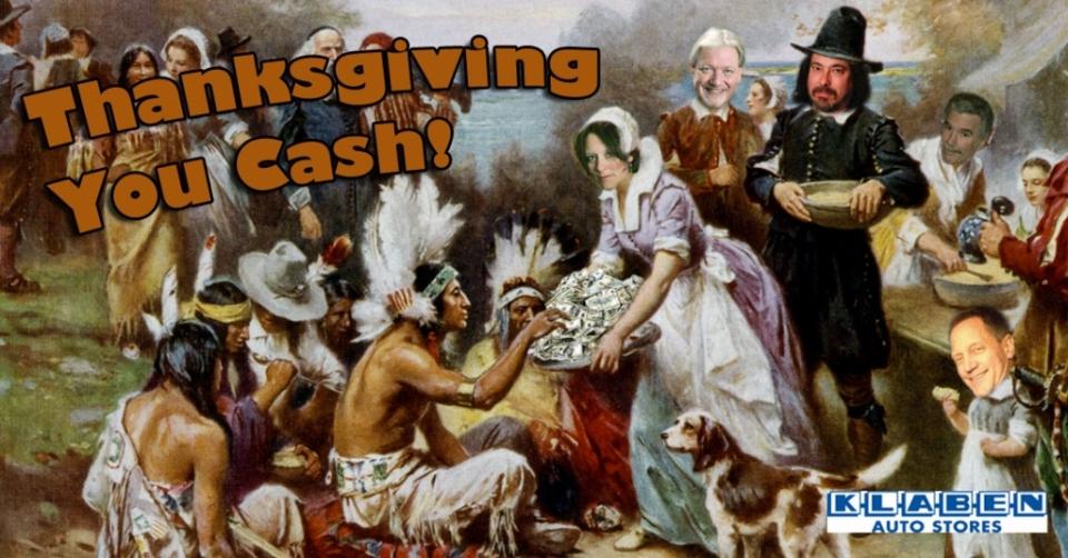 Thanksgiving You Cash